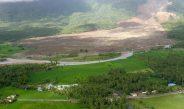 Landslide in Montania
